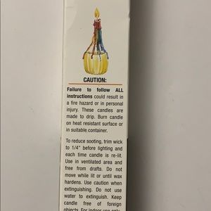 Other - Drip candle!